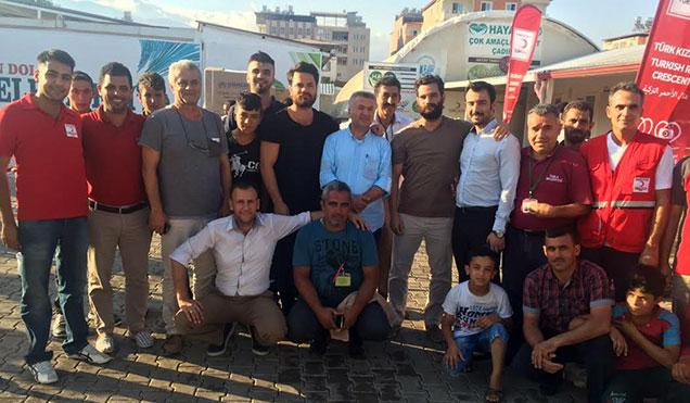 Dünyaca ünlü 2 Boksör Kardeş Kırıkhan'da