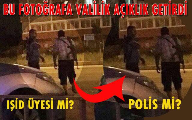 Antakya sokaklarında silahlı gezenler IŞİD üyesi mi, Polis mi?
