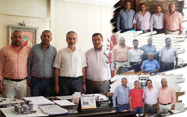 İşadamı ve esnaflardan Kırıkhanspor'a destek