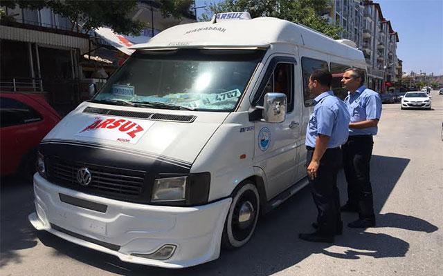 HBB Bayram öncesi araçlarda yasal denetimlerini arttırdı