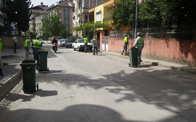 Antakya Belediyesi Ekipleri Bayram tatili boyunca aralıksız çalıştı