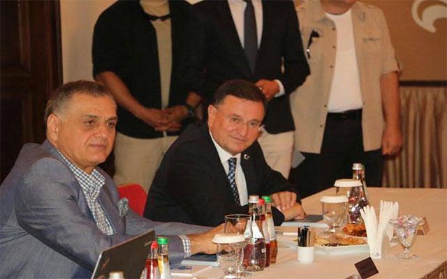 DOĞAKA 72'nci Olağan Yönetim Kurulu Toplantısı Başkan Savaş'ın katılımıyla gerçekleştirildi