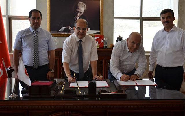 Yayladağı Meslek Yüksekokulu için protokol imzalandı