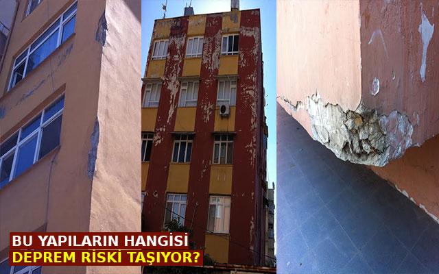 Bu yapıların hangisi deprem riski taşıyor?