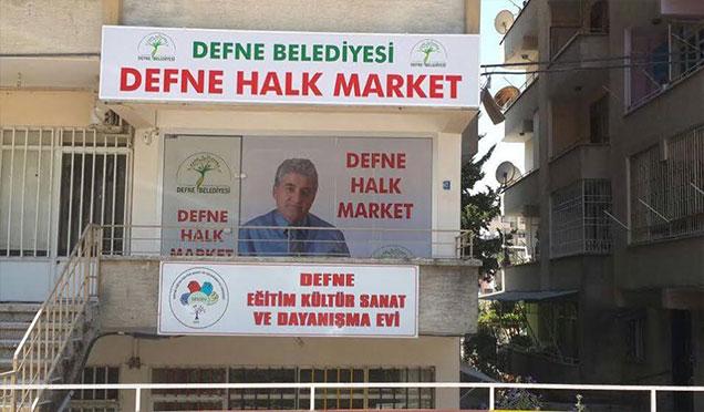 Defne Belediyesi Halk Market'in 2. Şubesini açıyor
