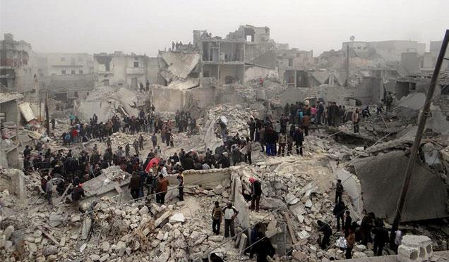 Halep'de Yüzbinlerce insanı bekleyen büyük felaket