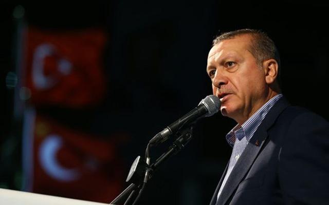 """Erdoğan """"PKKveDEAŞkalıntılarını ortadan kaldıracak bir harekat tarzı izleyeceğiz"""""""