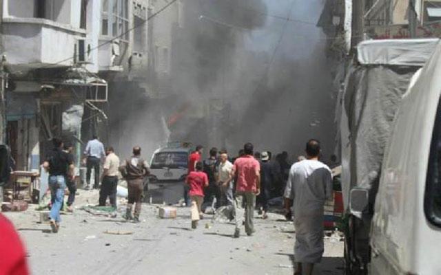 Rus uçakları İdlib'de pazar yerini vurdu: 15 ölü, 20 yaralı