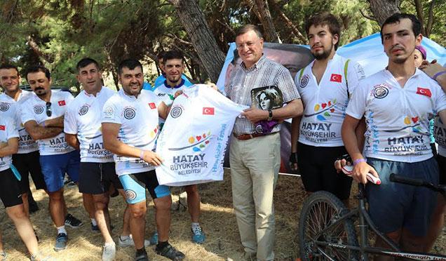 1. Hatay Bisiklet Festivali HBB'nin katkılarıyla gerçekleşti