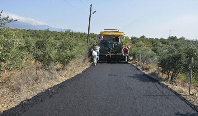 Kırıkhan Belediyesi yol yapımında büyük atılım gerçekleştiriyor