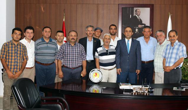 Hatay Gazeteciler Cemiyetinden Başsavcı Ahmet Tekne'ye Ziyaret