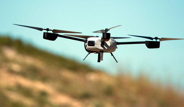 Drone ile mangal yakmak