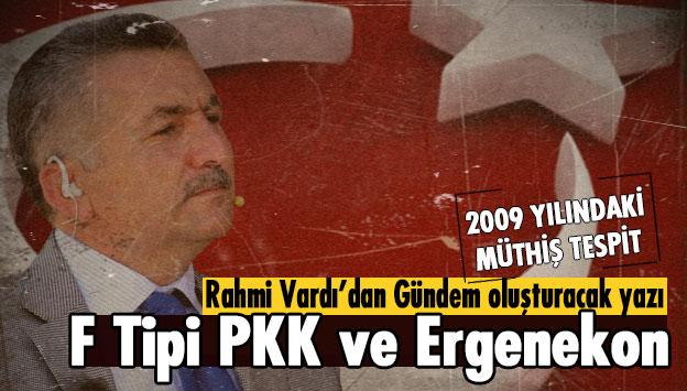 F Tipi PKK ve Ergenekon