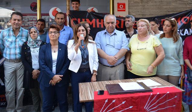 Taksim Manifestosu için Kırıkhan'da imza kampanyası başlatıldı
