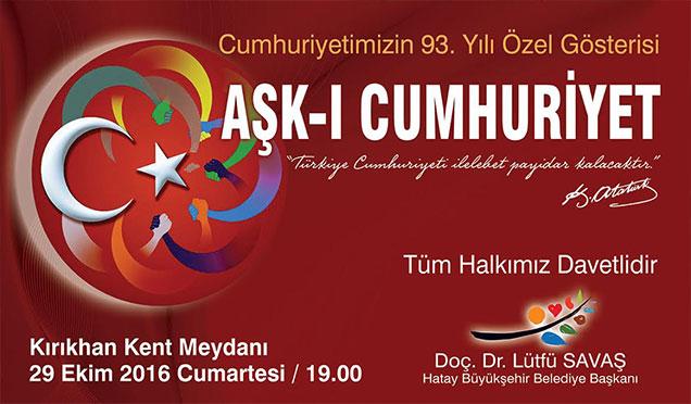 Hataylılar Cumhuriyet Bayramı'nı konserlerle kutlayacak