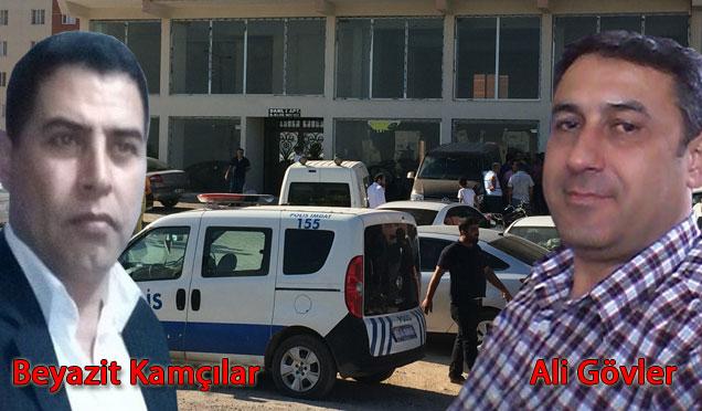 Kırıkhan'da 2 ortak işyerinde öldürüldü