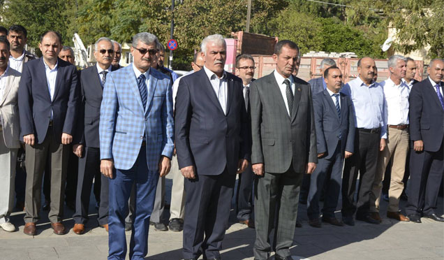 Muhtarlar günü Kırıkhan'da kutlandı