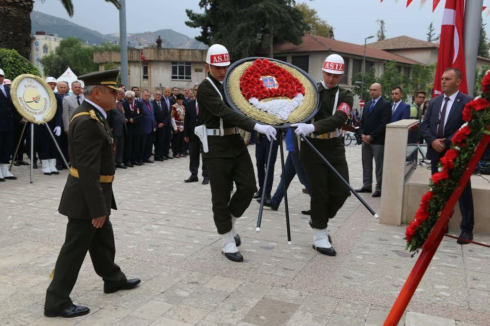 HBB Cumhuriyet'in Kuruluşunun 93'üncü yıldönümünü törenle kutladı