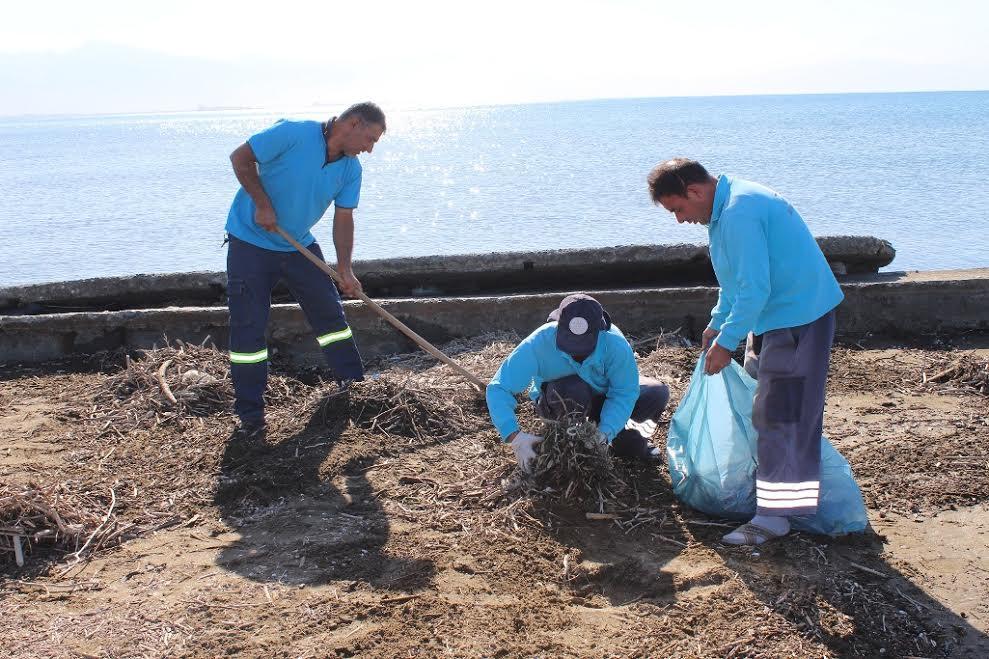 HBB Deniz ve Sahillerden 580 ton atık topladı
