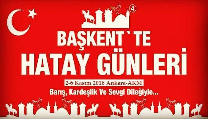 Kırıkhan Belediyesi yöresel ürünleriyle Başkent Hatay Günleri'ne çıkartma yapıyor