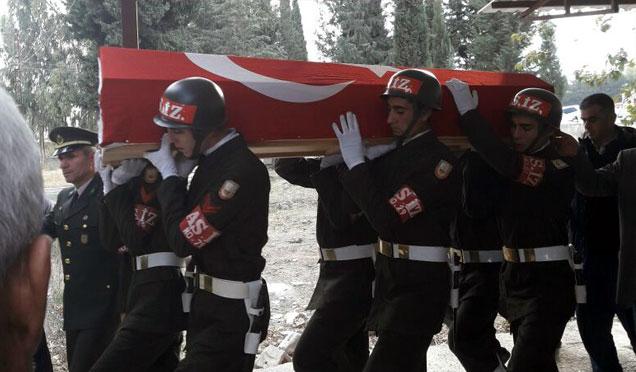 Kıbrıs Gazisi resmi törenle toprağa verildi