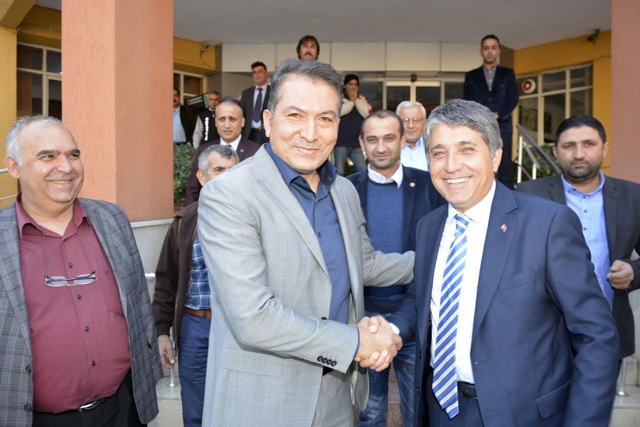 Milletvekili Ertem'den Başkan Yavuz'a ziyaret