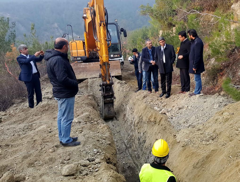 HATSU Heyeti Erzin'deki dev projeyi yerinde inceledi