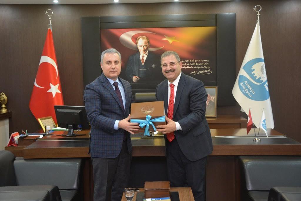 Vali Yardımcısı Bozdemir'den Başkan Kimyeci'ye veda ziyareti