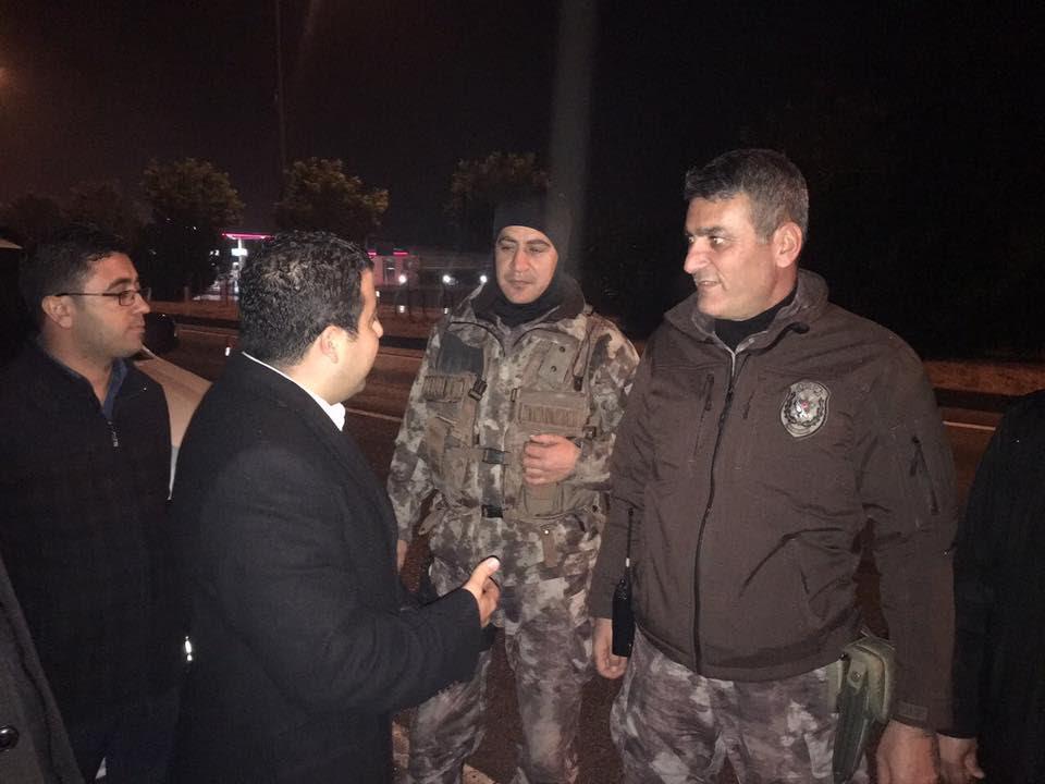 Ak Parti'den polislere ziyaret