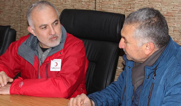 Kızılay Genel Başkanı Kerem Kınık Kırıkhan'da
