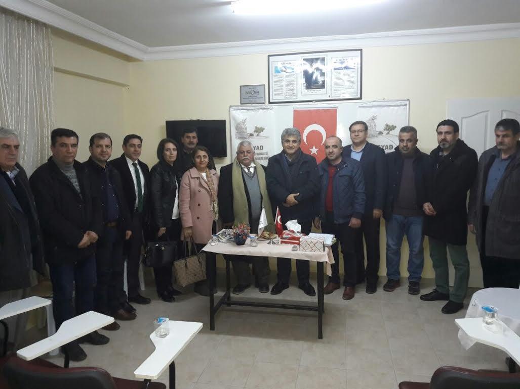 DASYAD Başkan Yaman'ı ağırladı