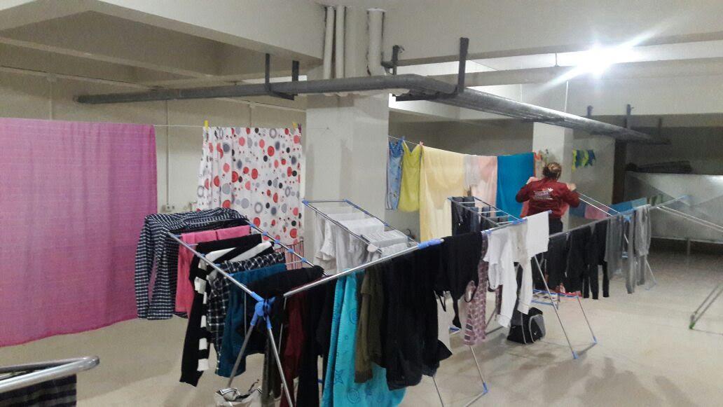 Çamaşır Yıkama Merkezi ile öğrencilerin sıkıntıları geride kaldı