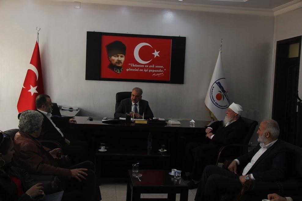EHDAV Genel Başkanı Ali Yeral Başkan Nehir'i ziyaret etti