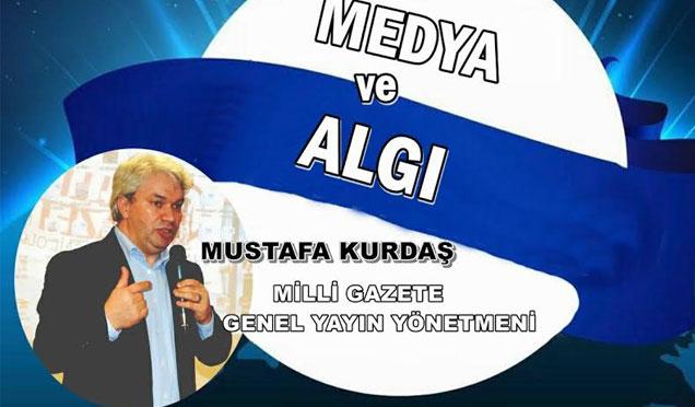 """Anadolu Gençlik Derneği  """"Medya ve Algı Yönetimi"""" isimli konferans düzenliyor"""