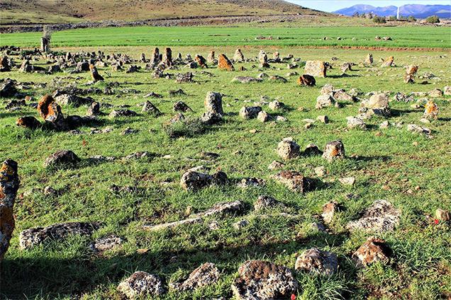 Hatay'da tarih; Hasa'da Türkmen Mezarlığı