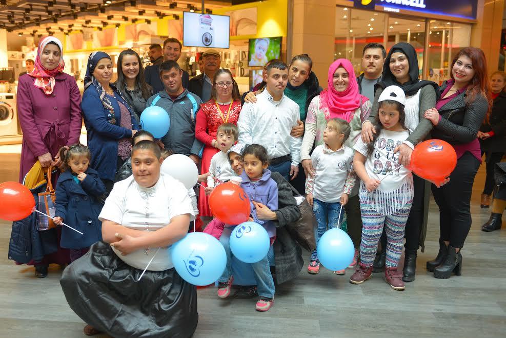 Down Sendromlu Çocuklar için etkinlik düzenlendi
