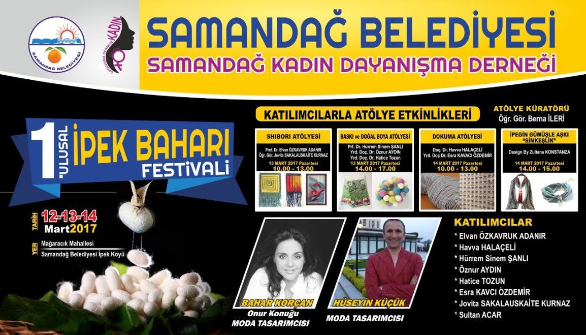Samandağ'da festival hazırlıkları tüm hızıyla sürüyor