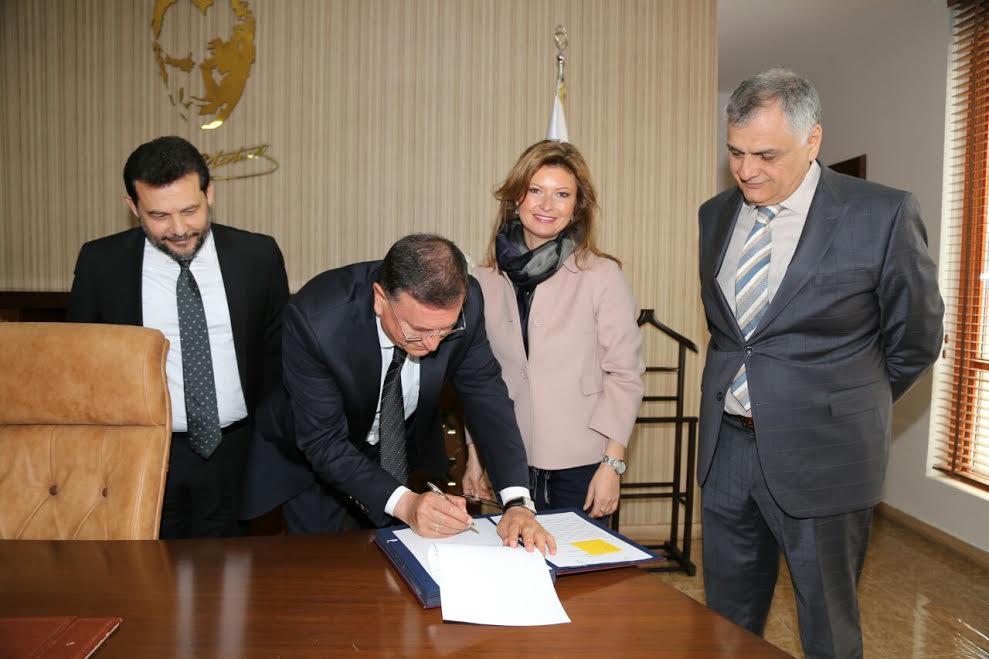Başkan Savaş Uluslararası protokole imza attı