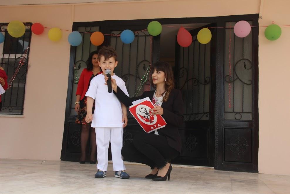 23 Nisan Ulusal Egemenlik ve Çocuk Bayramı Samandağ Belediyesi Çocuk Bakım Evi'nde kutlandı
