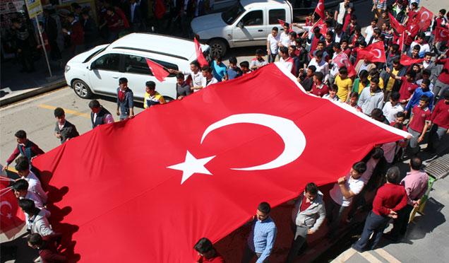 Kırıkhan'da 57. Alay Vefa yürüyüşü düzenlendi +Video