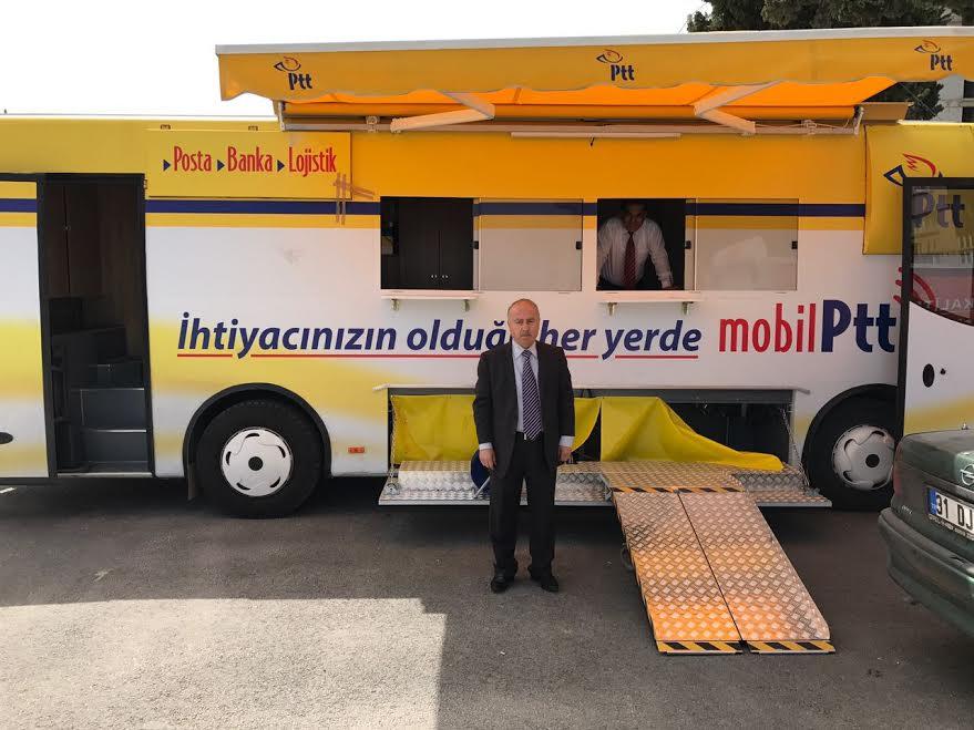 PTT Mobil Aracı Hatay'da hizmete girmek için gün sayıyor