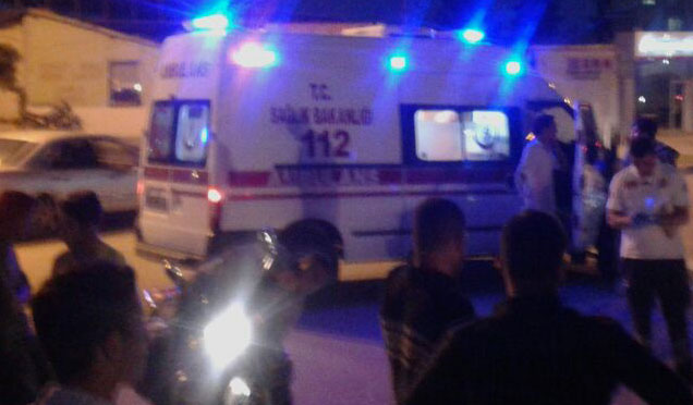 TIR'a arkadan çarpan otomobilde bulunan 2 kişi yaralandı