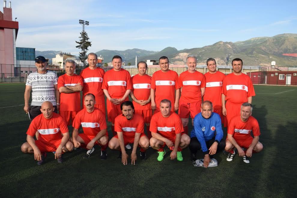 33.Erhan Aksay Futbol Turnuvası Körfez grubu maçları başladı
