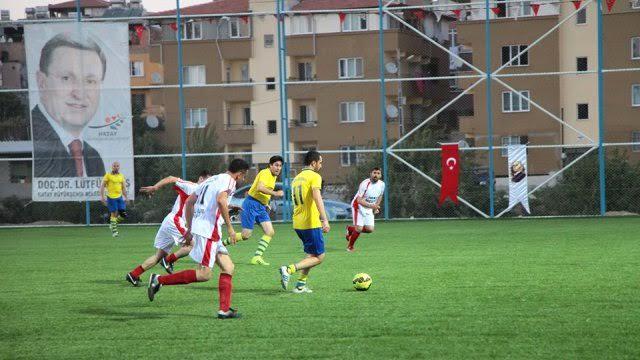 33. Erhan Aksay Futbol Turnuvası Antakya Grubu kuraları çekiliyor