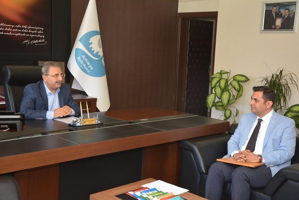 Başkan Kimyeci Doğaka Genel Sekreteri Yıldız'ı ağırladı