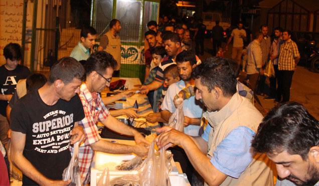 Kırıkhan'da 5 Bin aileye 13 Ton alabalık dağıtıldı