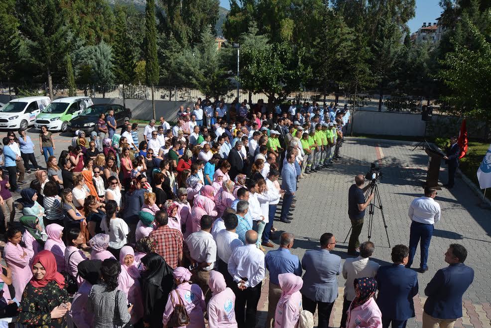 Antakya Belediyesi ailesi bayramlaştı