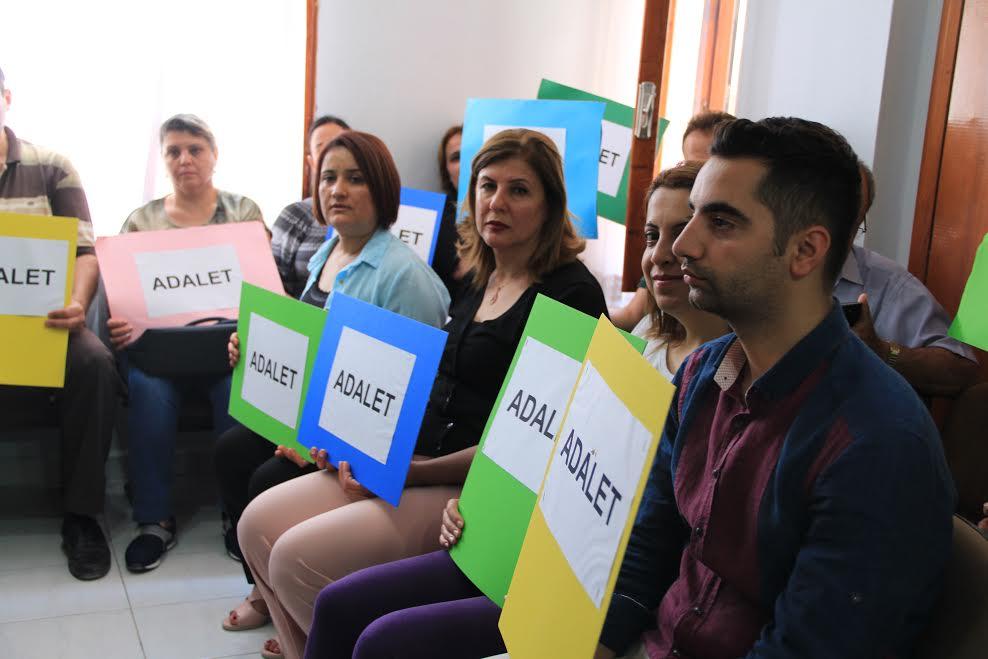 Samandağ CHP İlçe Teşkilatından Adalet Yürüyüşüne destek
