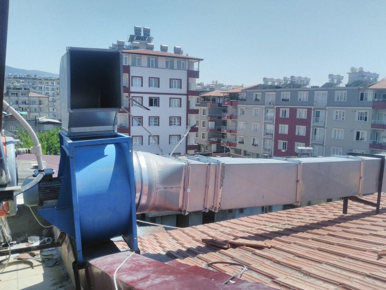Antakya Belediyesi ekiplerinden baca sistemleri denetimi