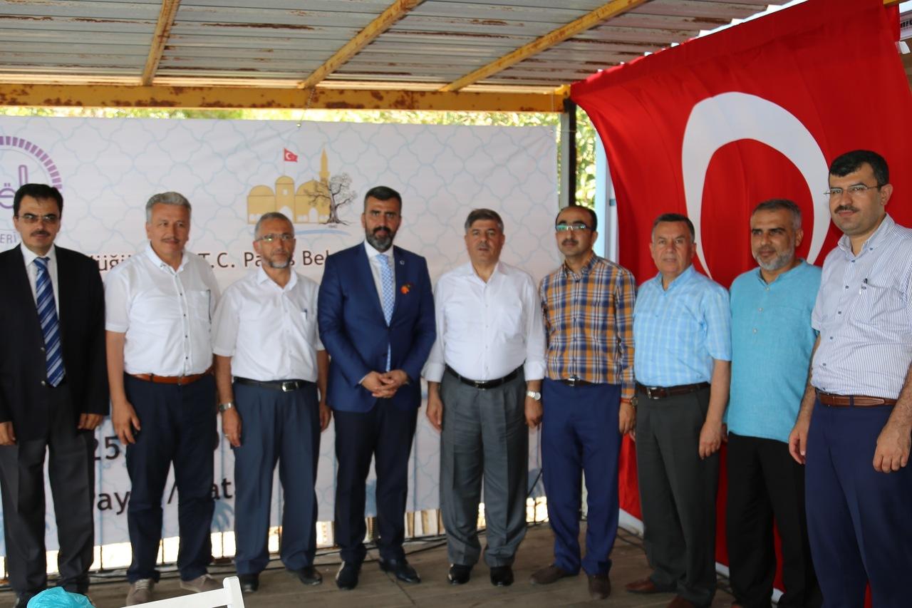 Payas Belediyesi'nden Yayladağı'na kutlu hizmet